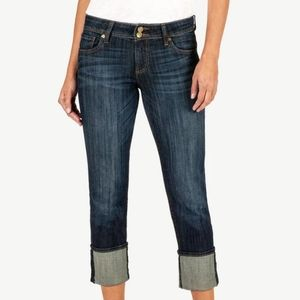 Kut from the kloth Cameron cuffed jeans